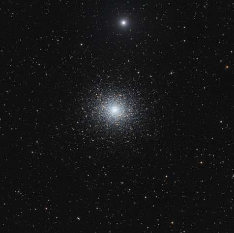Globular cluster M5 in Serpens