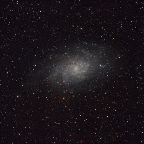 M33 The Triangle Galaxy 2014