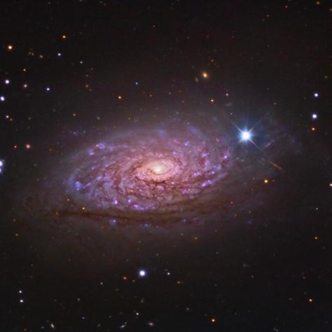 M63 La Galaxia del Girasol Datos de Jim Misty (Imagen del día en Astrobin 19/06/2015)