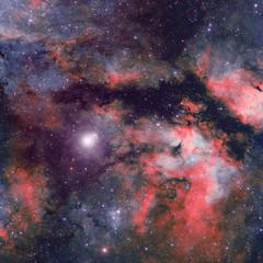 IC 1318 Nebulosa Mariposa