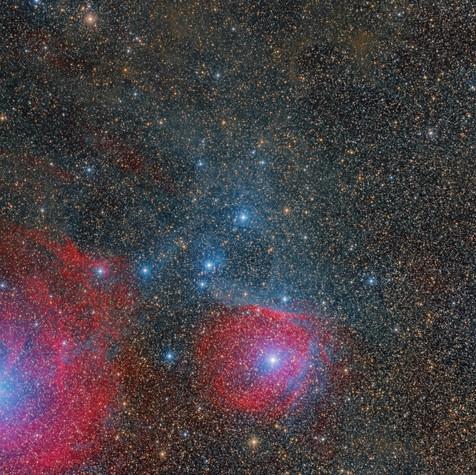 Sh2-1 Nebulosa de Reflexión  Scorpio