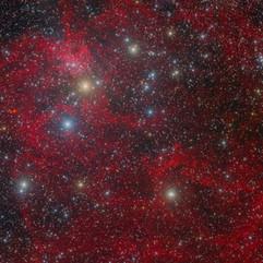 IC417 Nebulosa de la Araña en Auriga