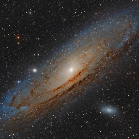 M31 Galaxia Andromeda 2018