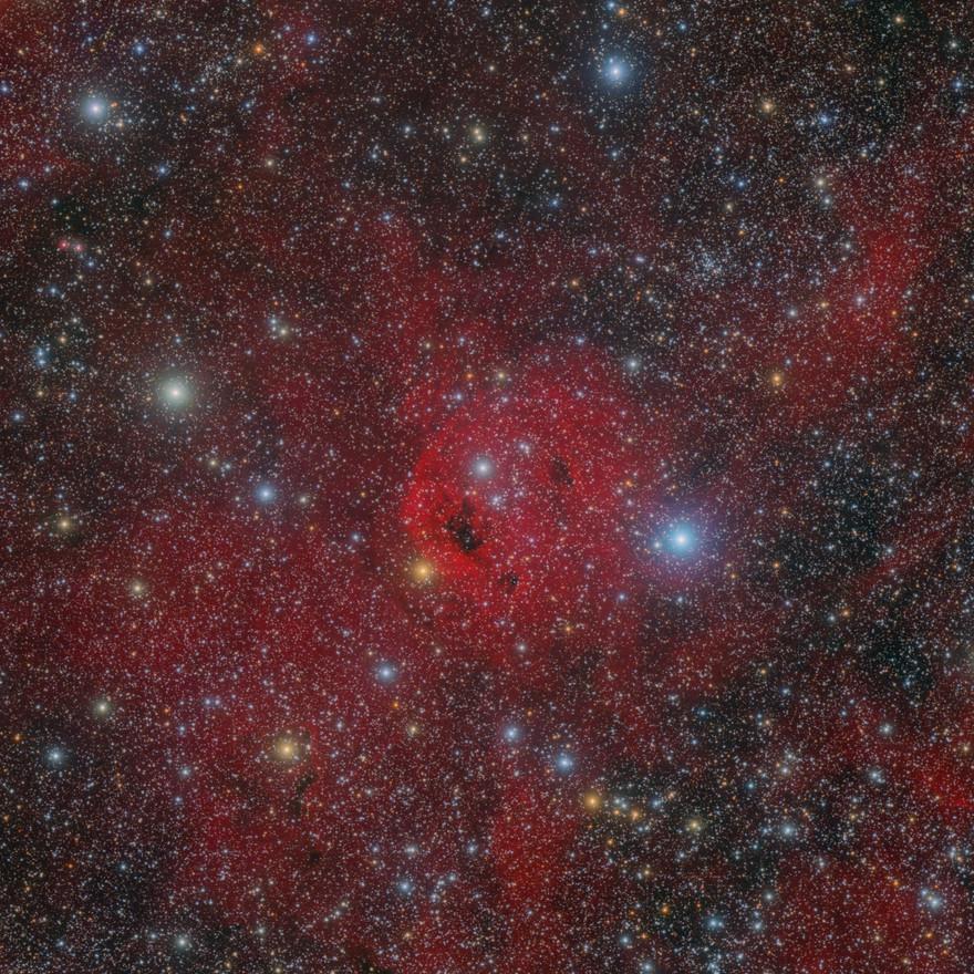 Sh2-173 Nebulosa de Emisión en Casiopea