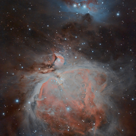 M42, M43 and the Nebular Complex Corridor in Orion