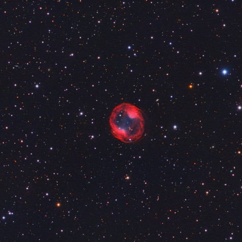 PK164+31.1 Nebulosa Planetaria en el Lince