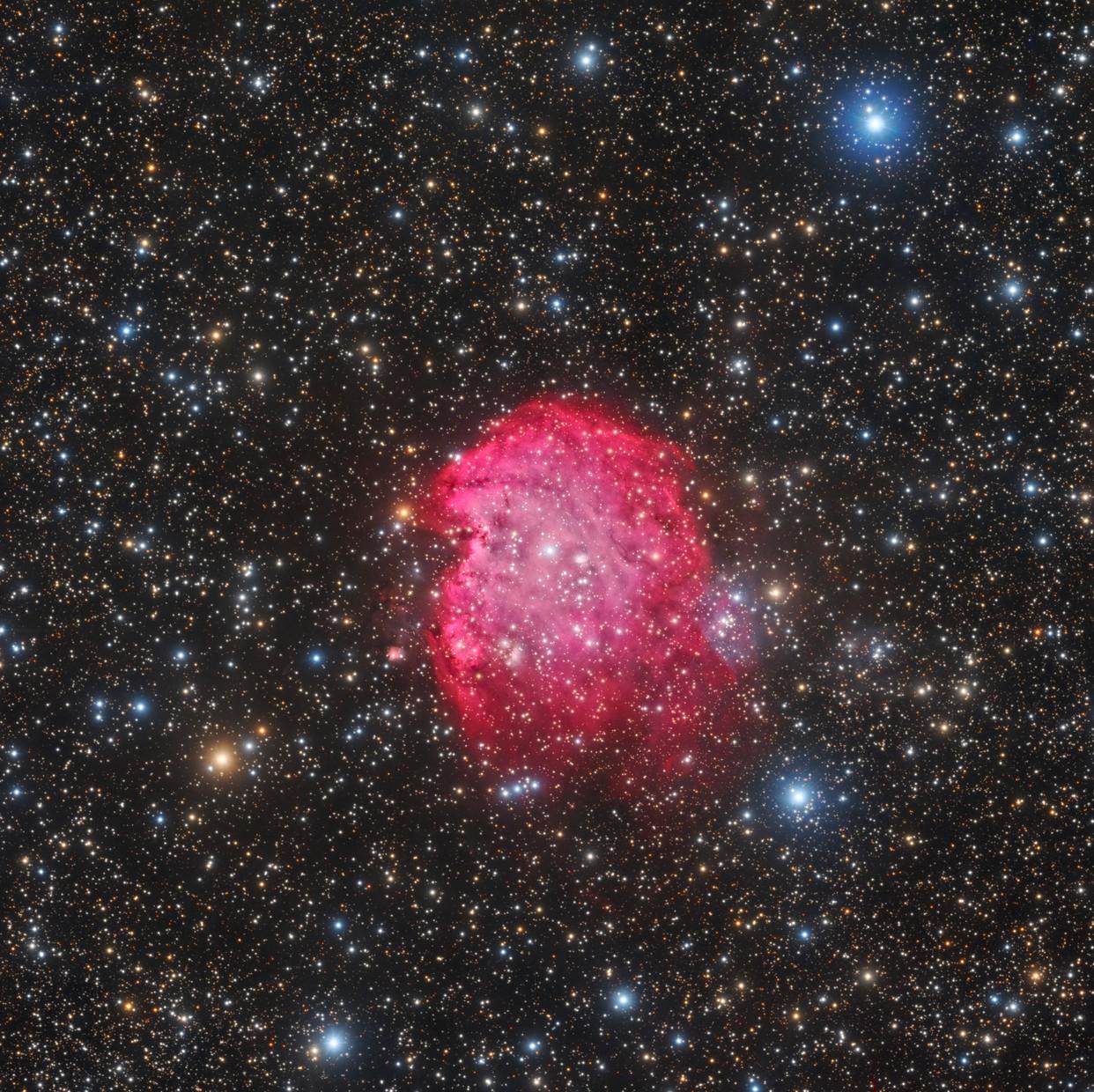NGC 2175 Nebulosa Cabeza de Mono
