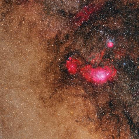 Gran Campo M8 y M20  HaLRGB