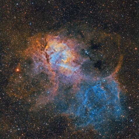 Sh2-132 Lion King Nebula