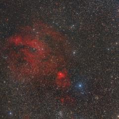 SH2-205 Diffuse Nebula in Perseus