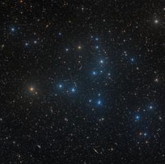 Open star cluster Melotte 111