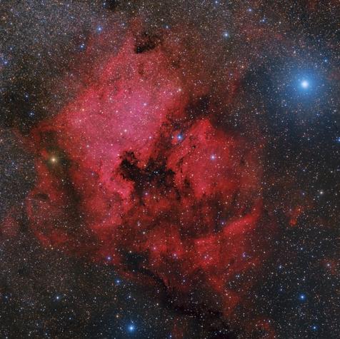 Nebulosas  NGC 7000 & IC 5070  en el Cisne