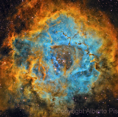 NGC 2244 Nebulosa Roseta