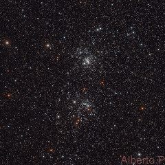 NGC 869 and 884 Double Cluster in Perseus