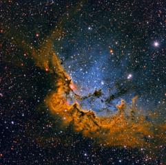 NGC 7380 El Mago en SHORGB