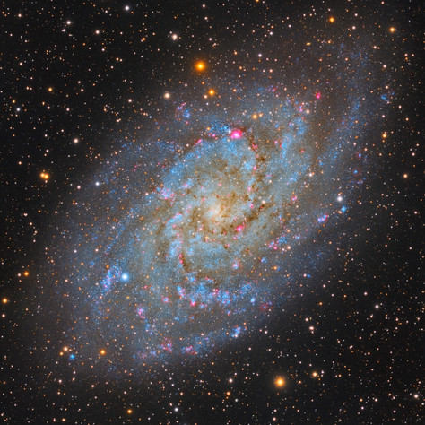 M33 The Triangulum Galaxy LRGB (2019)