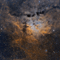 Sh2-86 Nebulosa en Vulpécula