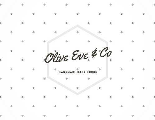 Olive Eve & Co Handmade Baby Goods