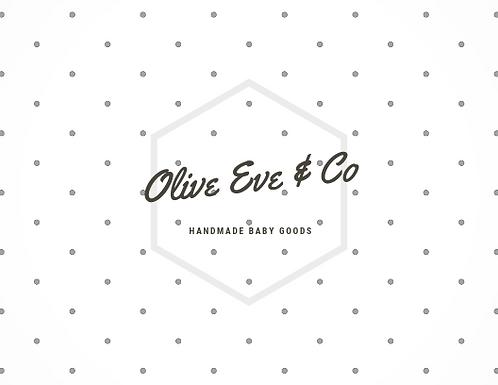 Olive Eve & Co Handmade Baby Goods
