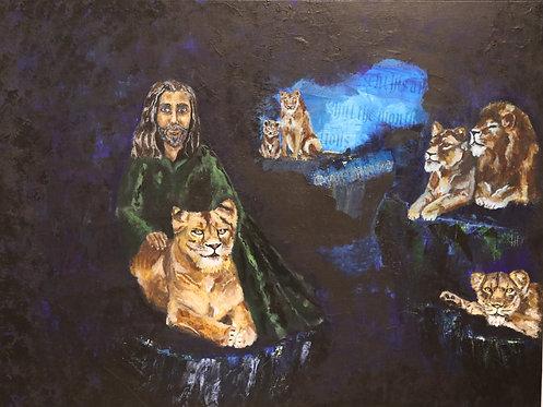 Original - Bi·ble sto·ry | Daniel in Lion's Den