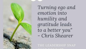 Episode 21: The importance of turning ego into humility
