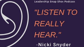 Episode 11: Learning to listen to others in the room to really hear