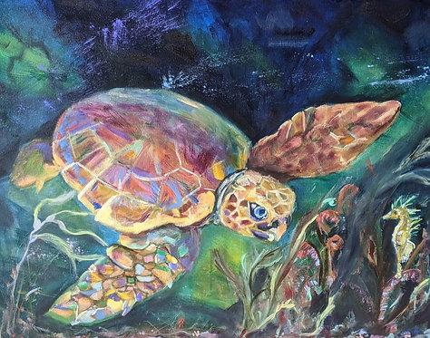 Katelyn's Sea Turtle