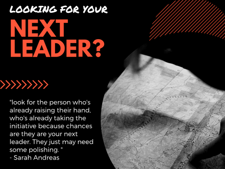 Looking for your next organizational leader?