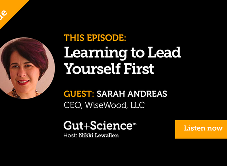 You can't give if you're empty -Guest Podcast Gut+Science
