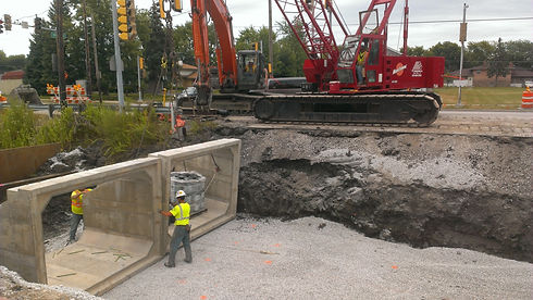 Lansing 191st and Burnham Rd Reconstruct