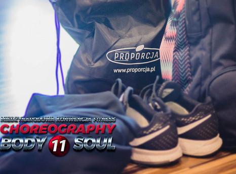 PROPORCJA – oficjalny sponsor  konwencji sportowej Choreography Body&Soul 11