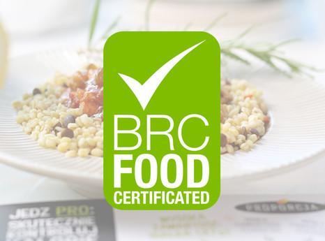 Certyfikat BRC dla Joyfood