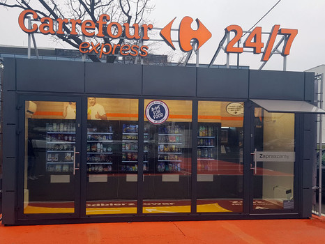Dania gotowe PROporcja w pierwszym autonomiczny sklepie Carrefour!