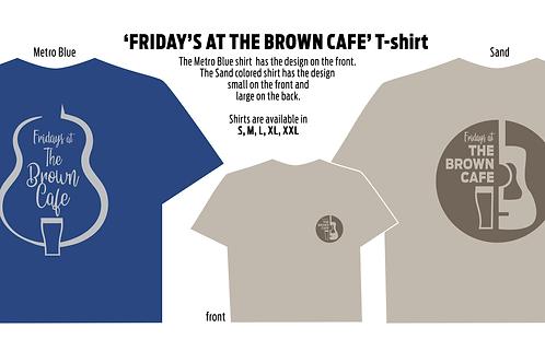 Brown Cafe T-shirt