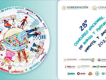 Convocatoria del XXVIII Concurso Nacional de Dibujo y Pintura Infantil y Juvenil 2021