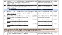 CALENDARIO DE EVALUACIONES EXTRAORDINARIAS: RECORDATORIO
