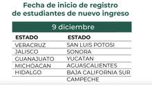 Beca Universal para Estudiantes de Educación Media Superior Benito Juárez - Alumnos de Nuevo Ingreso