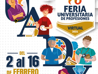 "Futuro egresado, la UADY te invita a la ""Feria Universitaria de Profesiones"""