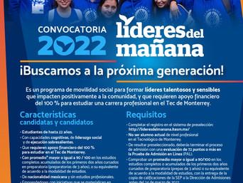 El Tecnológico de Monterrey te invita a ser parte de los líderes del mañana.