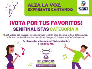 Alza la Voz, Exprésate Cantando - Prepa06 Finalista #VotaOmar