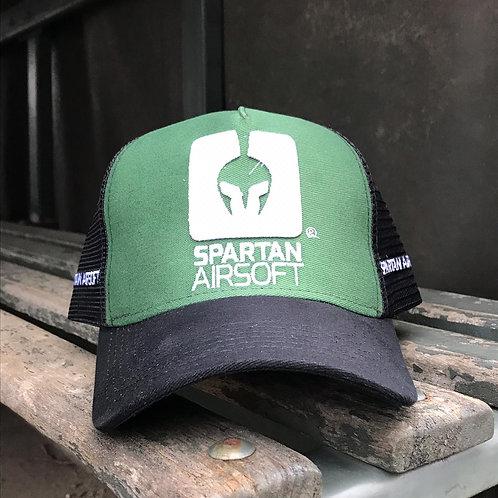 BONÉ SPARTAN GREEN -  oficial