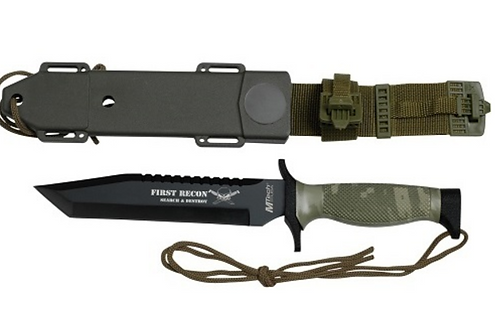MTech MT-676TC 7in Stainless Steel Fixed Blade