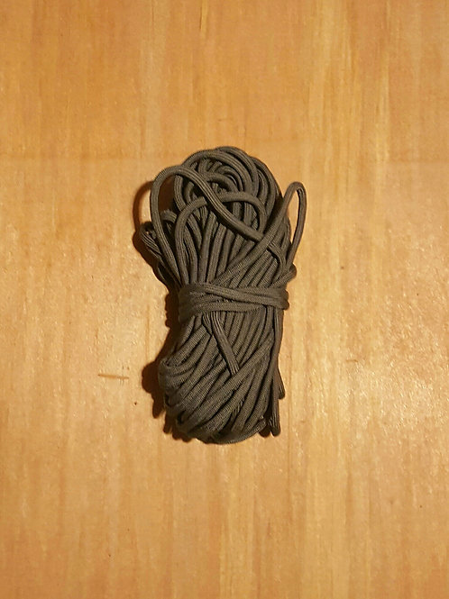 Gray 50' Bundle of Paracord 550