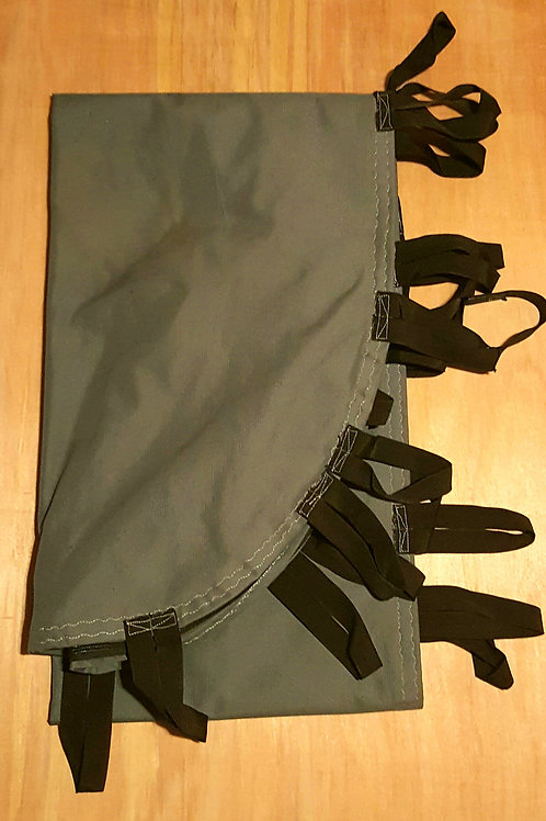 Gray Outer Fabric Layer