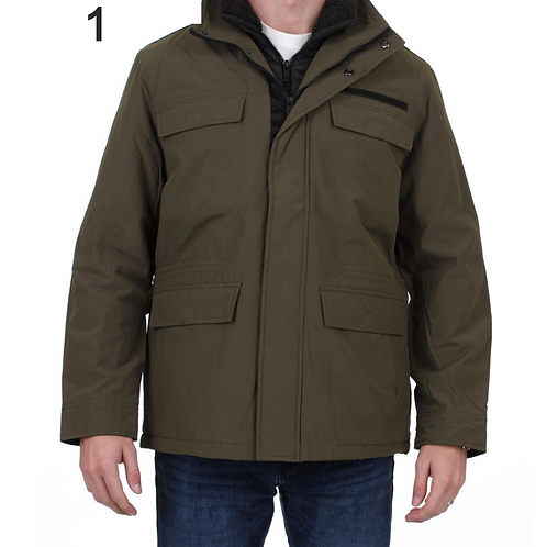 Mens Weatherproof Winter Techno-cotton Parka Coat
