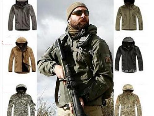 Tactical Gear Shark Skin Softshell Outdoor Jacket
