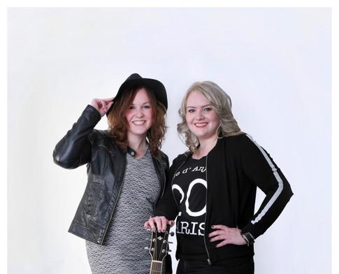 Fotoshoot Anne en Sabine