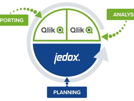 Qlik kann nun auch planen – novofactum schließt Partnerschaft mit Jedox