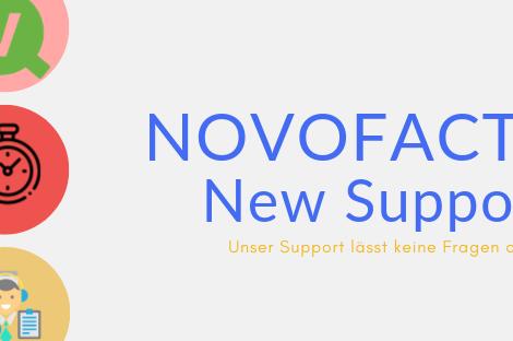 Das neue Ticketsystem für den novofactum Support