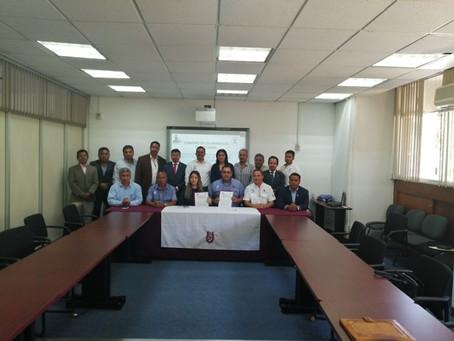 Convenio entre el CAEO y la Sociedad de Egresados de Ingeniería Civil A.C. del IPN